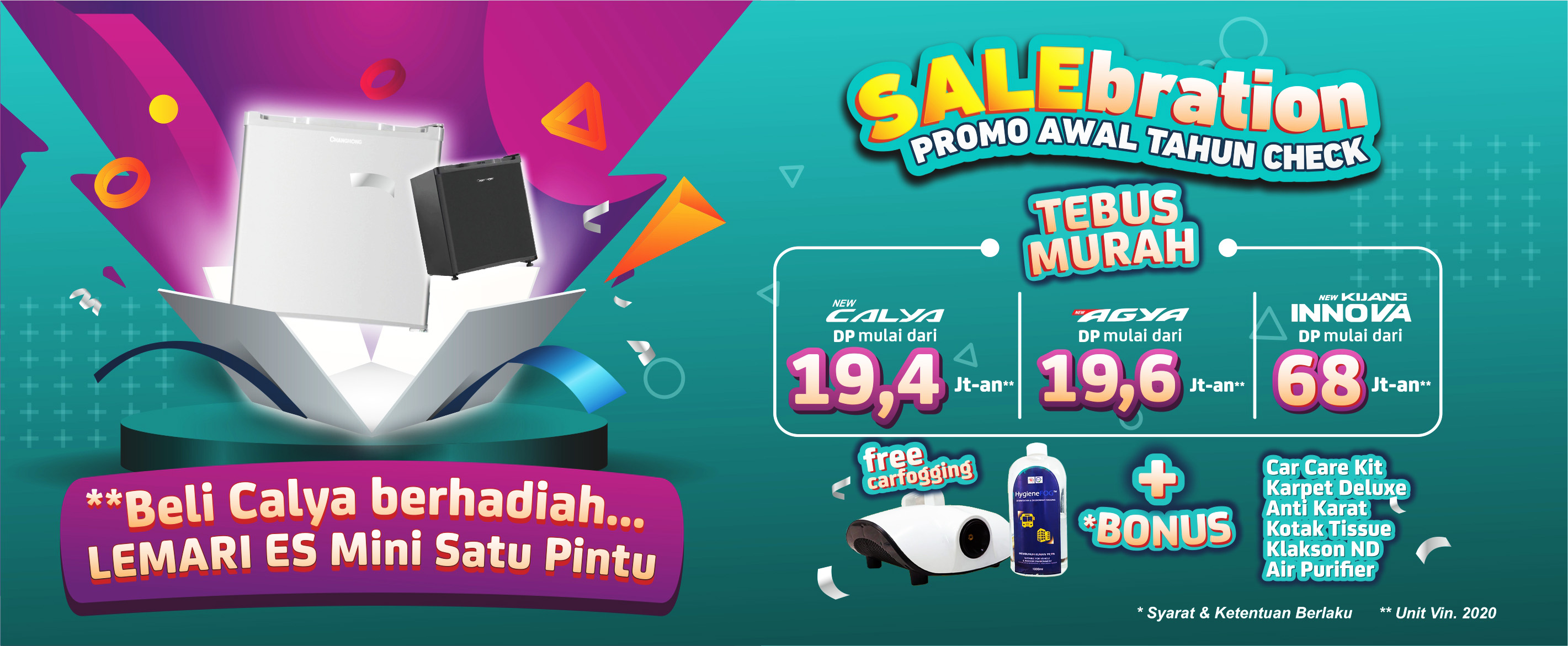 Promo Salebration Januari 2021