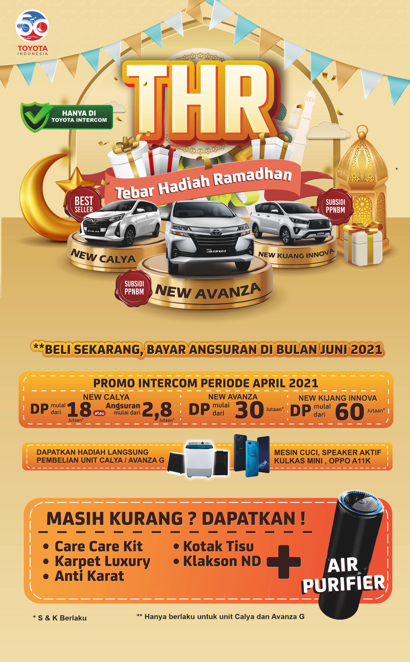 Promo Toyota Tebar Hadiah Ramadhan