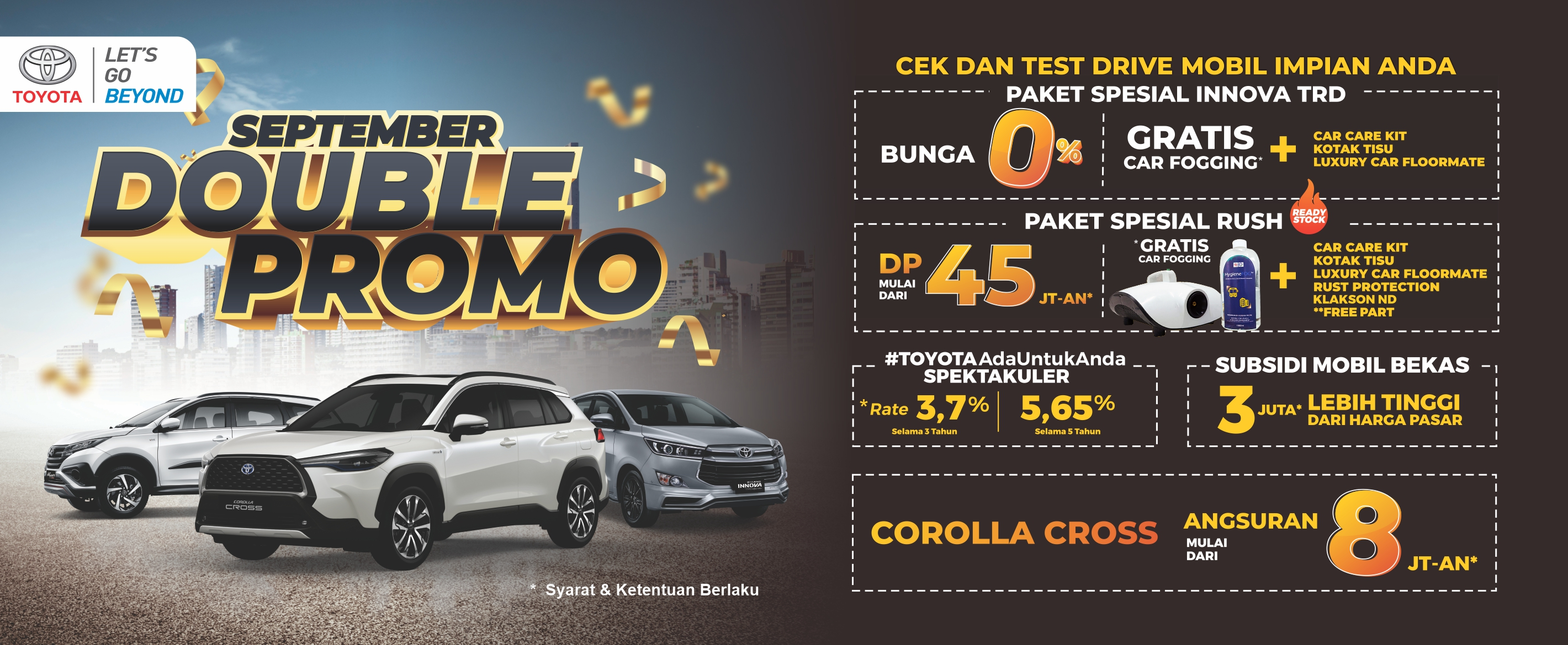 Promo Toyota September 2020